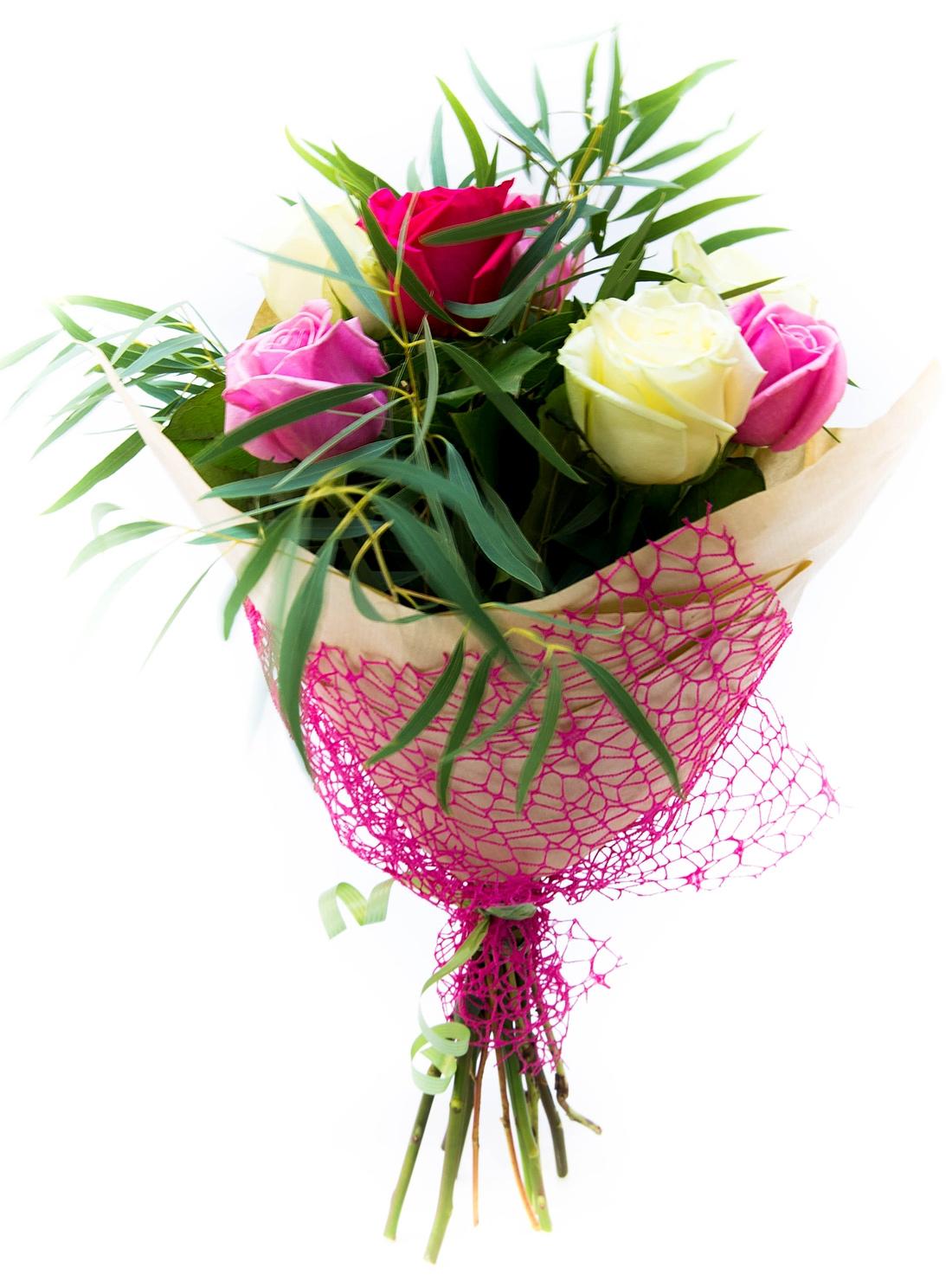 картинки скромный букет цветов его пологих